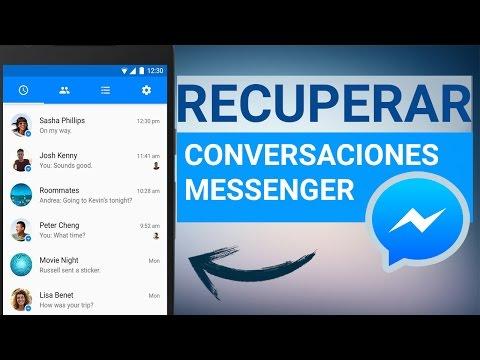 Recuperar Conversaciones, Fotos y Videos de Facebook Messenger 2017