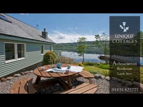 Luxury Self catering - Achnacarron Boathouse, Loch Awe, Taynuilt, Scotland