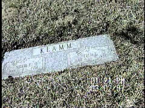St. Matthews Cemetery Riverside MO and Ken Klamm Home & Pet Video 1996-'97