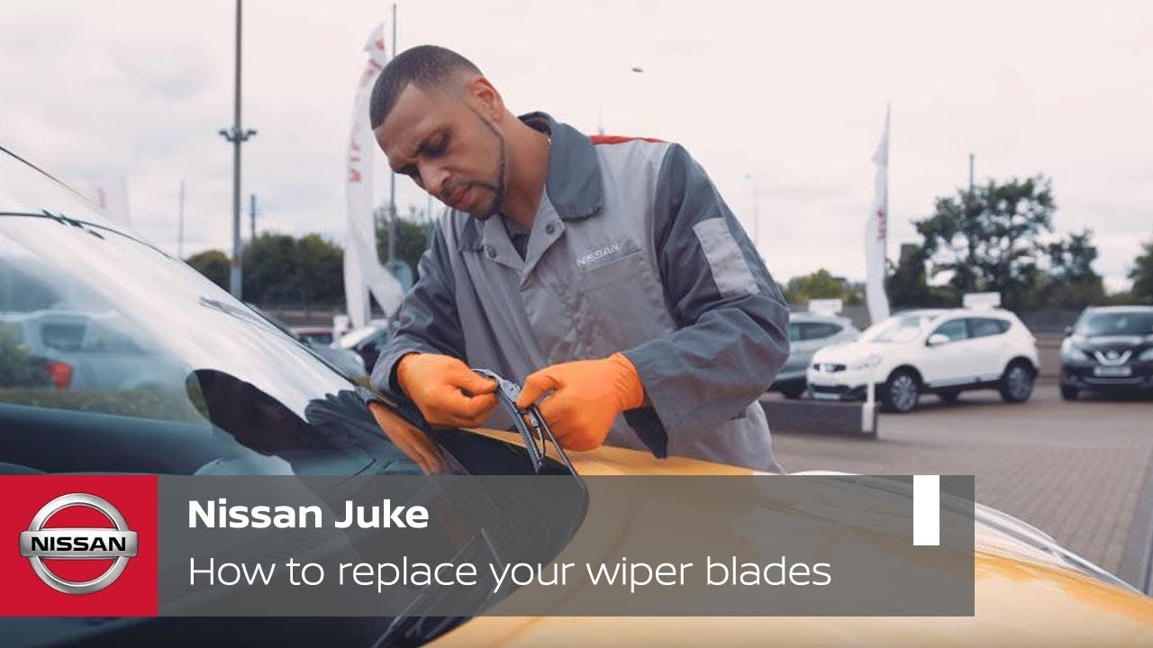 Nissan juke how to replace your wiper blades