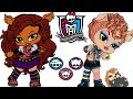 Monster High Wolf Babies - Cute Baby Clawdeen Wolf Care Game for Children