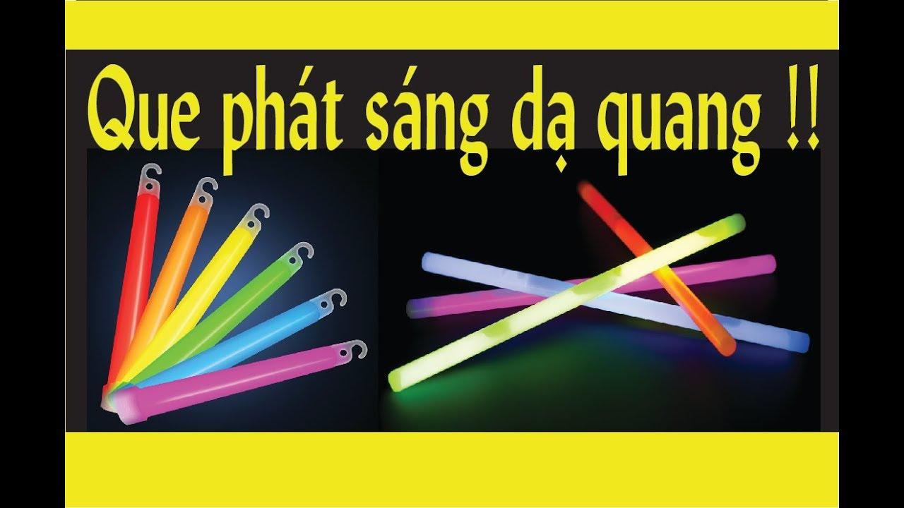 Có gì bên trong que phát sáng dạ quang Light Stick? | Inside to out |  KID Chemistry
