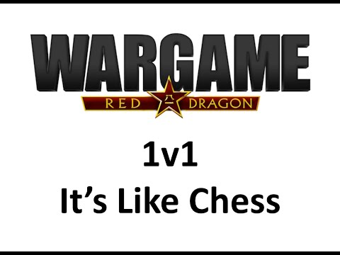 Wargame Red Dragon 1v1 - It's Like Chess