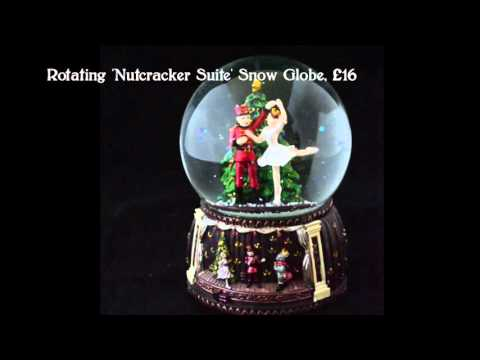 German Musical Snow Globes from Barretts - 'Nutcracker Suite'