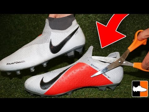 New Nike Boot Hacks! ✂️ How To Improve Phantom VSN