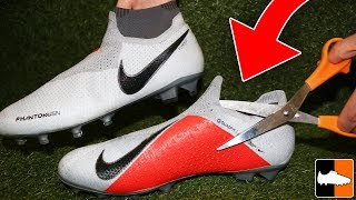 New Nike Boot Hacks! ✂️ How To Improve Phantom VSN