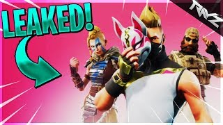 FORTNITE SEASON 5 BATTLE PASS SKINS LEAKED! VIKING, NINJA & DESERT OPS! (Fortnite Battle Royale)
