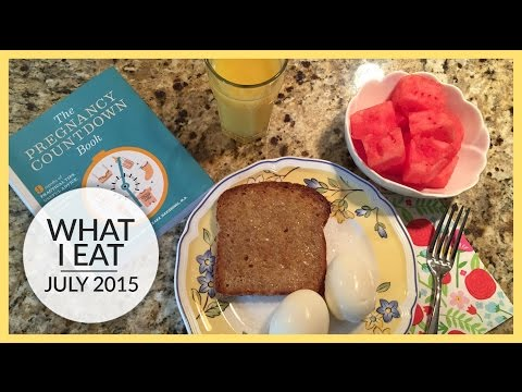 what-i-eat-|-pregnancy-edition-|-late-1st-&-early-2nd-trimester