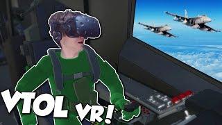 VTOL RESCUE MISSION! - VTOL VR Gameplay - HTC Vive VR Gameplay