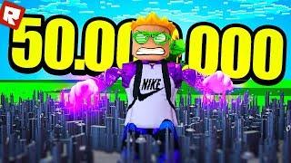 50.000.000 СИЛЫ ЗА ПАРУ КЛИКОВ! | Roblox