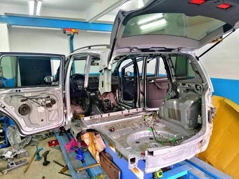 Volkswagen Touran. Трудности при ремонт VAGа.