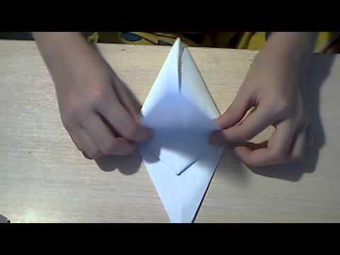 """Оригами """"Журавль"""" с машущими"""