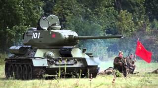 WW2 Soviet T34-85 Battle Tank - Up Close