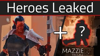 2 New Heroes Leaked and Teased - Dota 2 - Mars and Mazzie