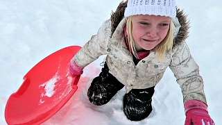 DANGEROUS SLEDDING ACCIDENT!!!