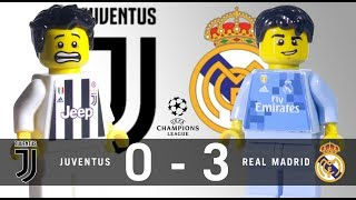 LEGO Juventus 0 - 3 Real Madrid Champions League 2017 / 2018