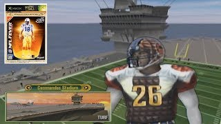 A football game but it's played on a BOAT
