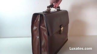 Luxates.com - The Bridge Cartella M Brown