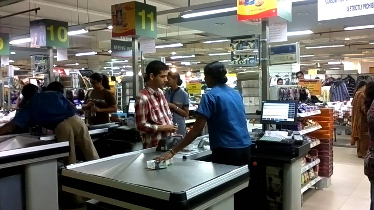 Cash Counter At Hypercity Inorbit Mall Hyderabad Youtube