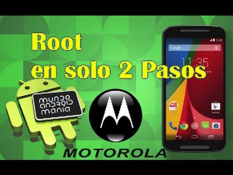 Root Motorola Moto G / Moto G2 / Moto X / Moto E / Moto E DS / en 2 Pasos Probado en un Moto G.