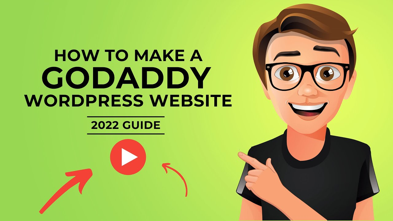 How To Make A GoDaddy WordPress Website 2021 [Made Easy]