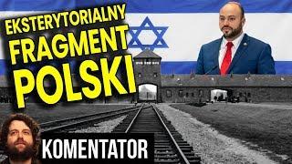 """Eksterytorialny Obszar Polski - Pomysł na Auschwitz """"kolegi"""" Dudy i Morawieckiego Analiza Komentator"""