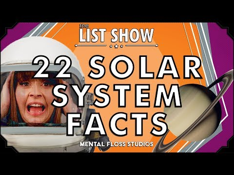 22 Solar System Facts | List Show 536