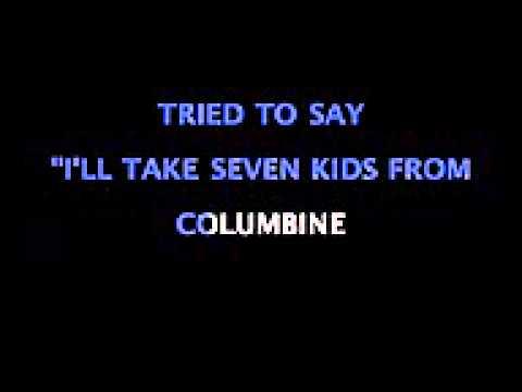 Rap God Instrumental - Eminem Karaoke - Scrolling Lyrics w Backup