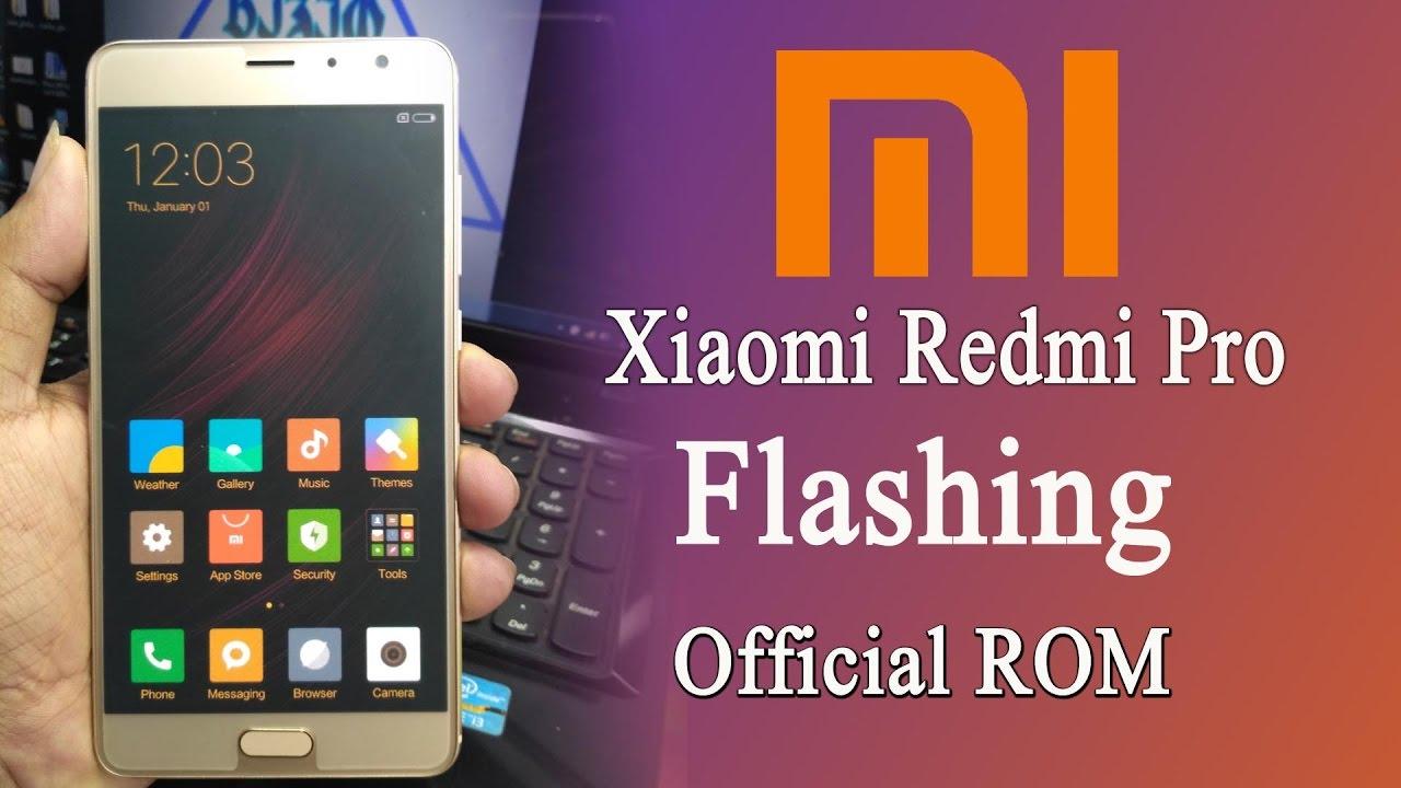 Flash Xiaomi Redmi Pro Using SP Flash tool Lock Bootloader