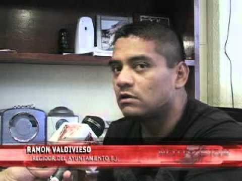 Debido a un denuncia,el regidor Ramon Valdivieso p...