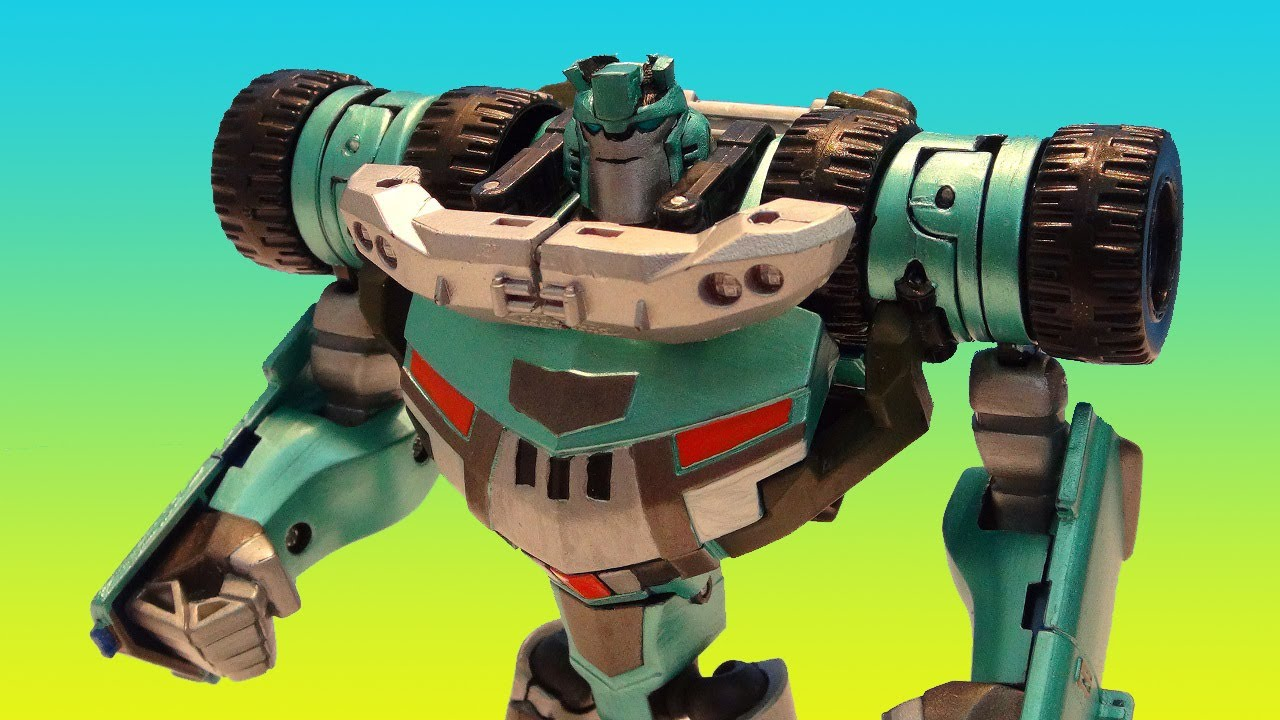 Transformers Animated Kup Custom Deluxe