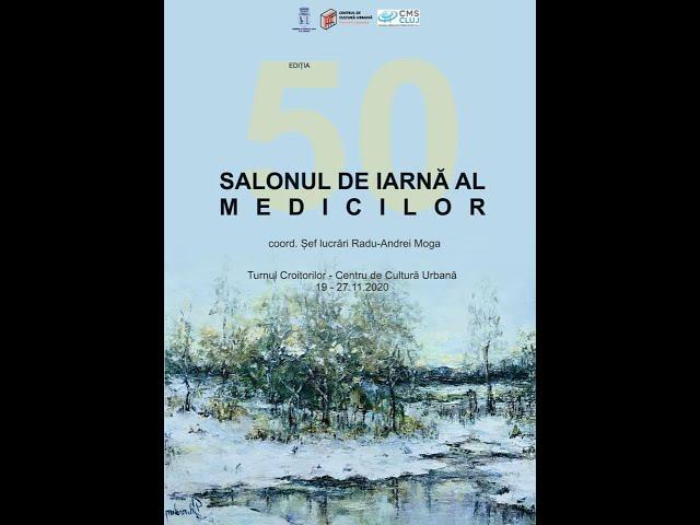Salonul de Iarnă al Medicilor ed. 50 - vernisaj