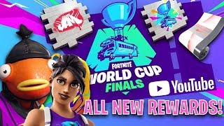 HOW TO *UNLOCK* THE FREE YOUTUBE WORLD CUP FORTNITE REWARDS! (VERY EASY!)