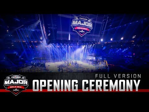 Opening ceremony   StarLadder Major Berlin 2019: New Champions Stage (full version)