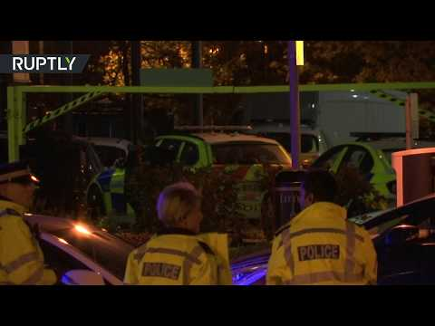 Flash grenades & police storm: Hostages freed following armed standoff in Nuneaton, England
