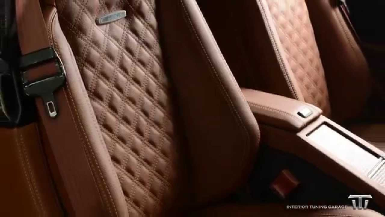 Mercedes SL 500 custom interior design - Youube - ^