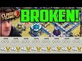 """Clash of Clans BROKEN! """"Three Star ANY Town Hall 13 Base"""" in CoC!"""