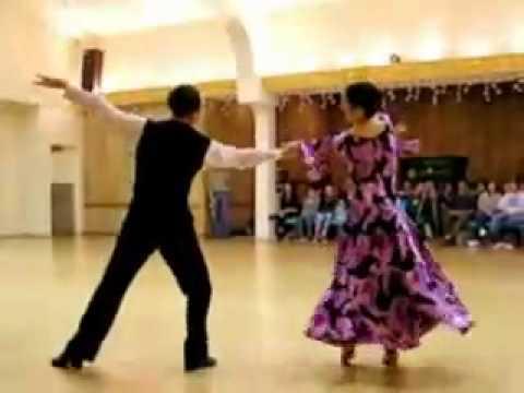 Khiêu vũ quốc tế   Viennese Waltz James & Melody Panorama