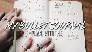 MY BULLET JOURNAL | PLAN WITH ME FOR 2017