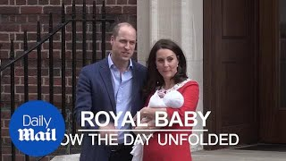 Royal baby: How the day unfolded - Daily Mail