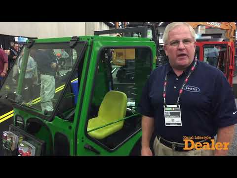 John Davis Discusses the New Aftermarket Cab for John Deere Sub Compact Tractors