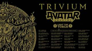 Trivium - The Sin and the Sentence World Tour 2018