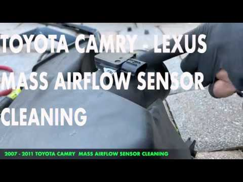 Toyota Camry Mass Airflow Sensor Cleaning Youtube