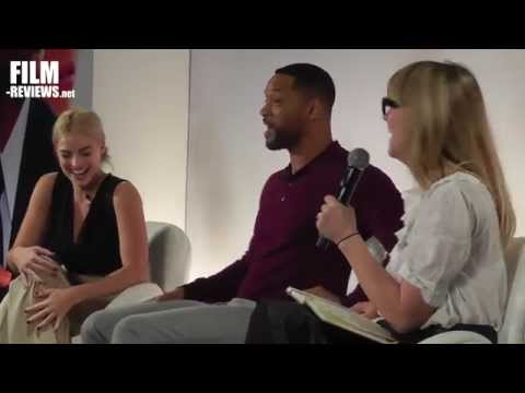 FOCUS UK Press Conference with Will Smith and Margot Robbie