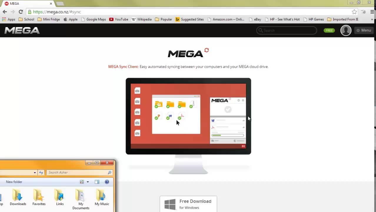 mega limited download