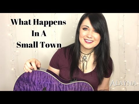 What Happens In A Small Town - Brantley Gilbert Lindsay Ell COVER BY ALAYNA