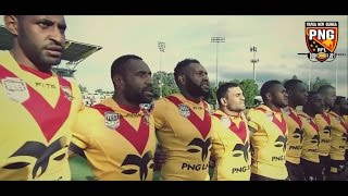 Papua New Guinea PNG Kumuls HIGHLIGHTS - Pacific Test Match 2017