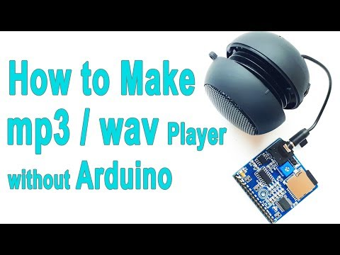 How to Make MP3 Player without Microcontroller | Voice Playback Module