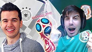 MÉXICO (alexby) vs (staxx) ALEMANIA - Partidos Mundial #1