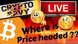 🌟CRYPTO SAVY LIVE STREAM🌟 BITCOIN and LITECOIN price, news, analysis